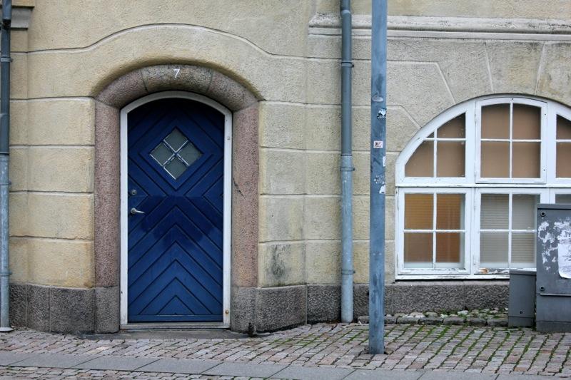 Aalborg_blaa_doer