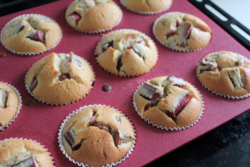 rabarbermuffins